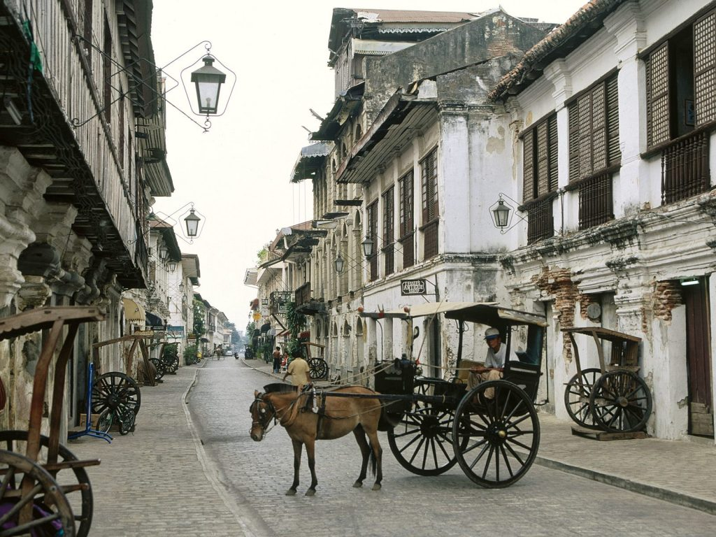 vigan city best places in the philippines