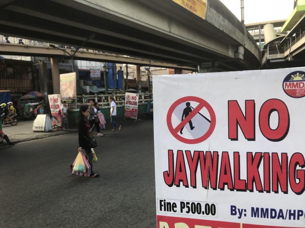jaywalking philippines