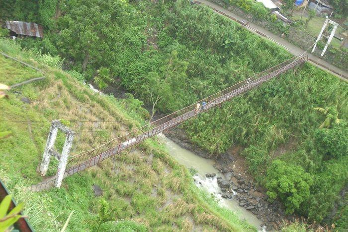 Hanging Bridge near Bontoc