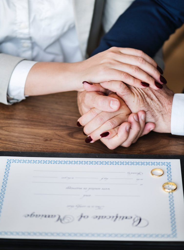 secure marriage certificate