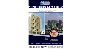 BRITCHAM_ 4th Property Matters (Forum and Networking Night) Aug 30 2018