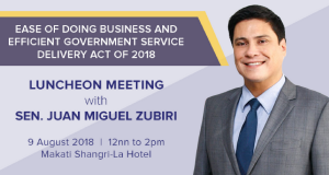 ECCP_ Luncheon Meeting on Ease of Doing Business Act Aug 9 2018