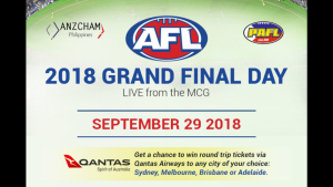 2018 AFL Grand Final Live from the MCG