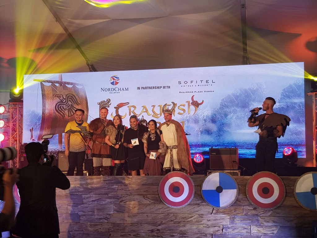 Crayfish Party 2018 at Sofitel Manila - Best dressed vikings