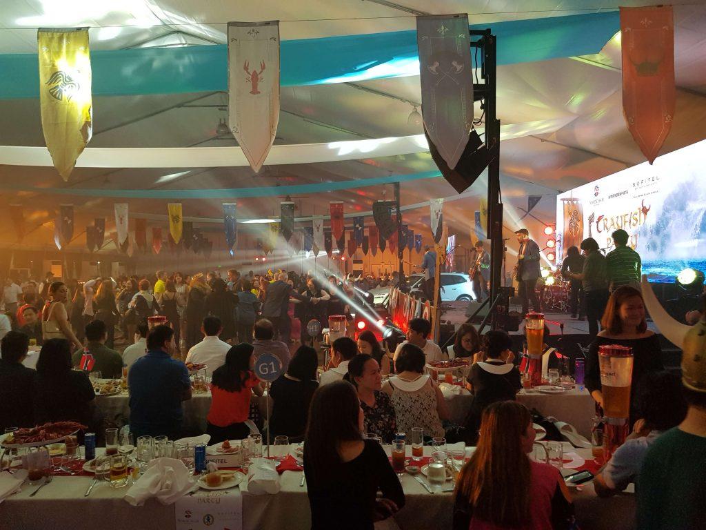 Crayfish Party 2018 at Sofitel Manila - Dancing