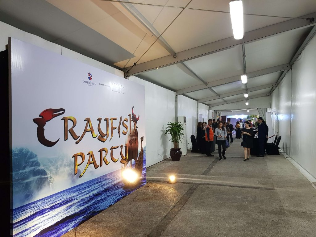 Crayfish Party 2018 at Sofitel Manila - Registration Area