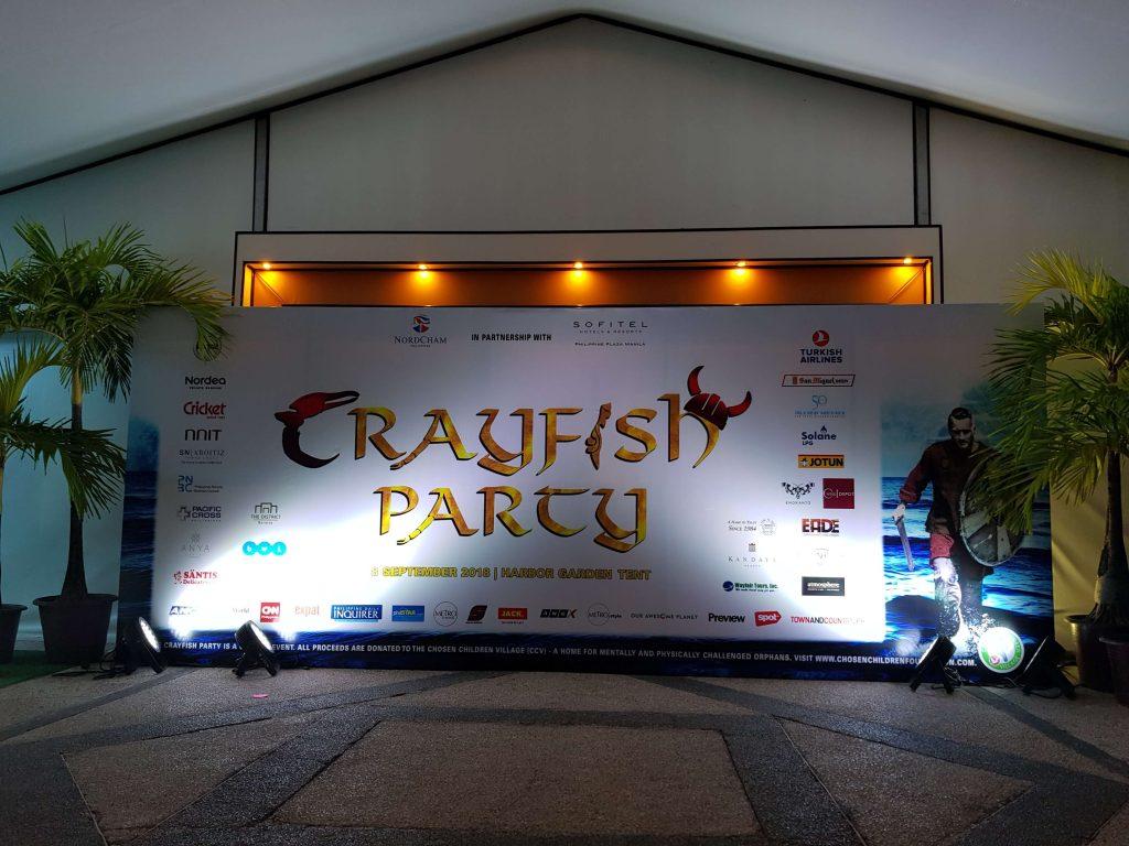 Crayfish Party 2018 at Sofitel Manila - Entrance