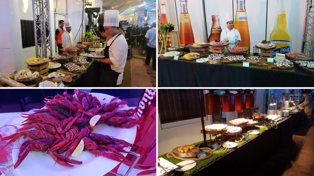 Crayfish Party 2018 at Sofitel Manila - Food